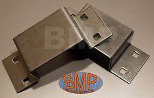 (10) BOLT ON STAKE TRAILER POCKETS 11 ga ZINC PLATED STEEL 1000105-B