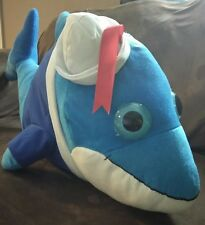 "Big Eyes & Soft 30"" Gigant  Blue Dolphin Stuffed Plush Toy Birthday Gift Fiesta."