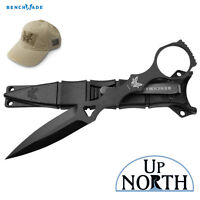 Benchmade 176BK SOCP SKELETONIZED TACTICAL DAGGER AND BLACK SHEATH FREE HAT