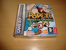 POPEYE RUSH FOR SPINACH PARA LA NINTENDO GAME BOY ADVANCE GBA NUEVO PRECINTADO