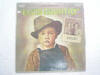 ELVIS PRESLEY ELVIS COUNTRY RARE LP record vinyl INDIA INDIAN 101 VG+