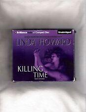 Linda Howard Killing Time unabridged audio cd