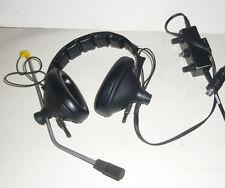 Sennheiser Mikrofon Kopfhörer Hör Sprechgarnitur HMD224 Als Ersatzteilträger