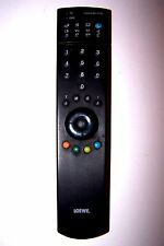 LOEWE TV DVD REMOTE CONTROL 201 VTR some keys a little faded