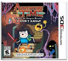 Adventure Time: Explore the Dungeon Because I Don't Know!  (Nintendo 3DS, 2013)