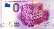 ITALIE Verona, Balcone di Romeo e Giulietta , 2018, Billet 0 € Souvenir
