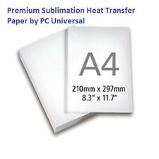 100 Sheets A4 Premium Quality Sublimation Paper, Heat Transfer Paper