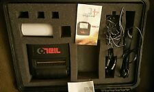 O'Neil MicroFlash 4t Barcode Portable  Thermal Printer with Pelican Storage Box
