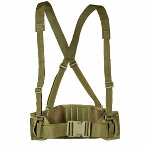 Tactical Vest Molle Belt Military Carrier Plate Hunting Waist Adjustable Girdle