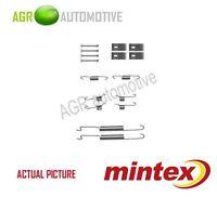 MINTEX REAR BRAKE SHOES SET FITTING KIT PIN SPRINGS GENUINE QUALITY - MBA863