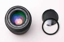 Minolta MD Zoom 70-210mm f/4.5-5.6 Telephoto Lens Caps & Filter (#2135)