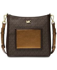 MICHAEL Michael Kors Signature Gloria Pocket Swing Pack Crossbody $258 # K 18 B