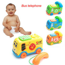 Baby Musik Spielzeug Cartoon Auto Telefon Kids Educational Developmental Toys