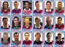 West Ham United 1990's series 1 vintage style Football Trading cards - Decades