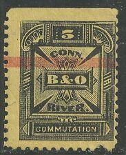 U.S. Revenue Telegraph stamp scott 4t2 - 5 cents issue of 1885 - mhng  #4