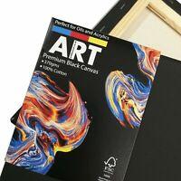 ARTdiscount PREMIUM Stretched BLACK Canvas - (Standard Profile) - Multi-Packs