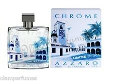 Azzaro Chrome Limited Edition Edt Spray 3.4oz 100ml * New in Box Sealed *