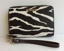 Stella & Dot Chelsea Tech Zebra Print Wallet  BRAND NEW!