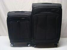 Samsonite 2-piece 360 Spinner Luggage Set 20/25, Black