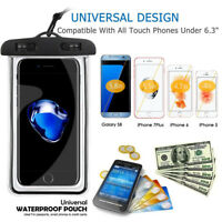 IPX8 Waterproof Phone Case Dry Bag for Samsung Galaxy S9 Swimming Travel lot