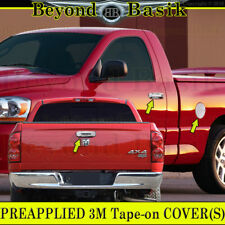 02-08 Dodge RAM 1500 03-09 2500-3500 Chrome Door Handle Covers NoPK+Tailgate+Gas