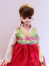 Korean girl Doll Fashion Mimi  Hanbok  Korea Traditional Costume