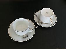 Set da Tè Porcellana originale Cartier 2 pezzi