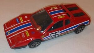Burago Ferrari 512 1/48 Red Made In Italy #66 In Good Condition
