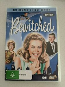 Bewitched - The Complete First Season In Colour - PAL Region 4 AU Stock