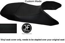BLACK AUTOMOTIVE VINYL CUSTOM FITS HONDA TRANSALP XL 650 SEAT COVER ONLY