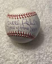 Brooks Robinson SIGNED AUTOGRAPHED OMLB BASEBALL HOF 83 Baltimore Orioles BEAUTY