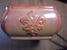 Brown Ceramic Glaze Decorative Wax Warner Air Freshener 314193
