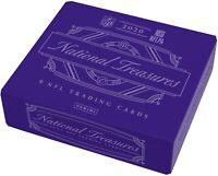 2020 Panini National Treasures Football Factory Sealed Hobby Box