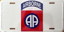 AIRBORNE Premium Embossed License Plate (LP-1109-151)