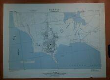 1943 US Army City Plans Albania Durazzo Valona GSGS 4515