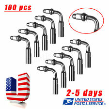 100Pcs Dental ED2 Endo Tips For Satelec DTE Ultrasonic Scaler Handpiece US ys-a