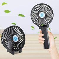 Mini Portable USB Fan Foldable Air Cooler Desktop Fans Hand Held Cooling Fan NEW