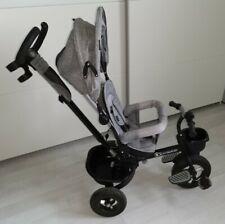 Kinderkraft Dreirad AVEO gray grau zum schieben und fahren