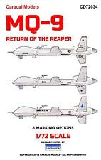 Caracal Decals 1/72 MQ-9 REAPER UAV Predator Drone