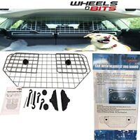 NEW Universal Car Headrest Mesh Dog Guard Grill Adjustable Pet Safety Barrier
