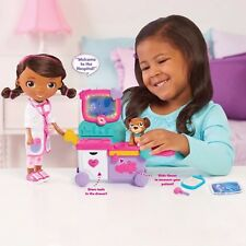Doc McStuffins Doll Magic Talking Doc Care Cart Ages 3+ Doctor Suit Hospital Fun