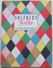 SOUTHERN FOLIO I più grandi Successi Mondial_Ed Southern Music 1946_12 SpartitI*