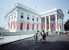 Tourist Outside White House Washington DC 1964 Kodak 35mm Slide 3