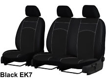 CITROEN JUMPY DISPATCH 2017-2019 ARTIFICIAL LEATHER TAILORED FRONT SEAT COVERS