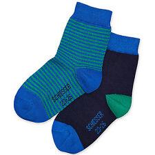 Gestreifte Schiesser Jungen-Socken