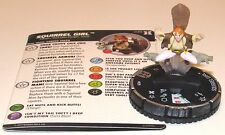 SQUIRREL GIRL 039 Deadpool and X-Force Marvel HeroClix Rare