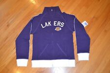 '47 Brand Los Angeles Lakers Women's Size Large Tennis Stretch Zipped Jacket NWT