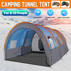 Super Big Camping Tent 8-10 Person aterproof Hiking Family /Moisture-proof