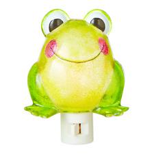 Green Frog Night Light