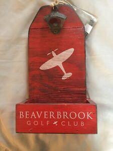 Beaverbrook Golf Club Wall Mounted Bottle Opener